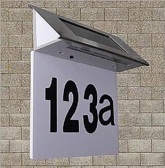 מגניב ביותר מספר בית סולארי 2 | תאורת חוץ | תאורה סולארית UE-38